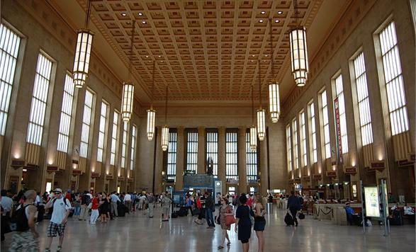 Amtrak's 30th Street Station