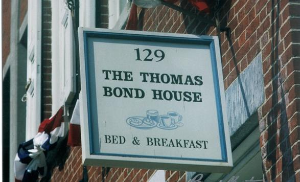 The Thomas Bond House Bed & Breakfast